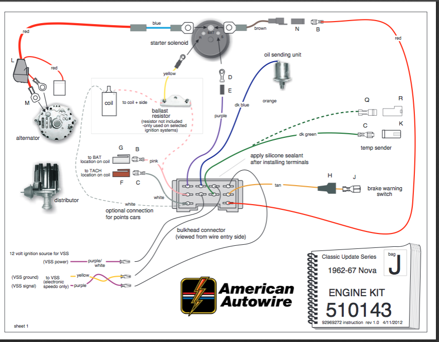 Another American Auto Wire Ls Swap Question