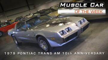 1979 10th Anniversary Trans Am
