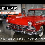 1957 Factory Supercharged Ford Ranchero