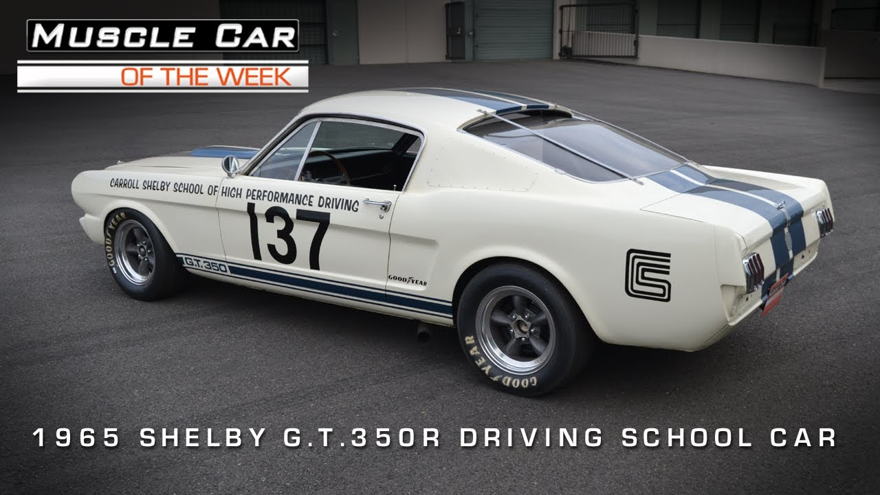 Gt350r For Sale >> 1965 Shelby GT350R Racing School Car