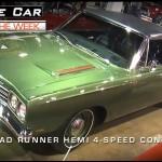 1969 426 Hemi Road Runner Convertible
