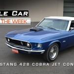 1969 Ford Mustang 428 Cobra Jet Convertible