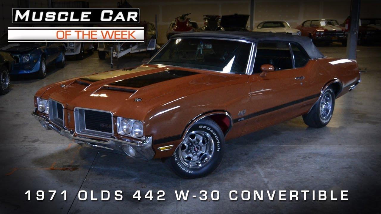 1971 Oldsmobile Cutlass 442 Convertible