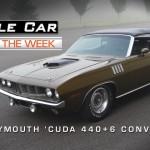1971 Plymouth 'Cuda 440 Six Pack Convertible