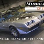 1979 10th Anniversary Trans Am