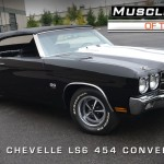 1970 Chevelle SS LS6 4-Speed Convertible