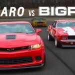 Big Red Camaro vs. 2014 Chevrolet Camaro Z/28