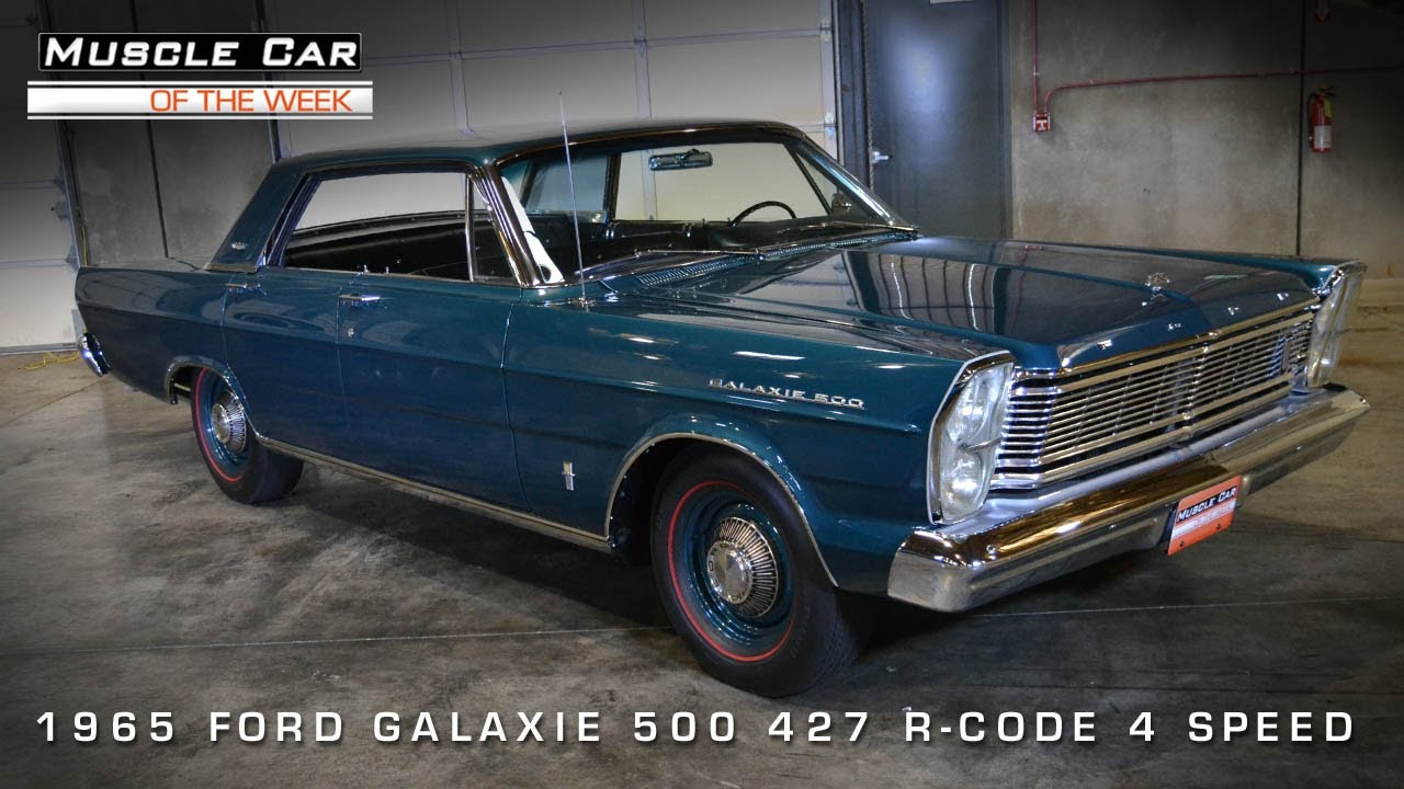 1965 Ford Galaxie 500 427 R Code 4 Door