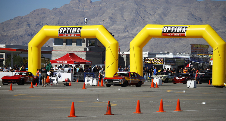 USCA Optima Recap Day One: Autocross and Speed Stop