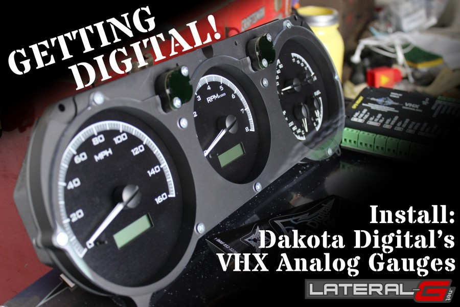 Dakota Digital VHX Gauge Install