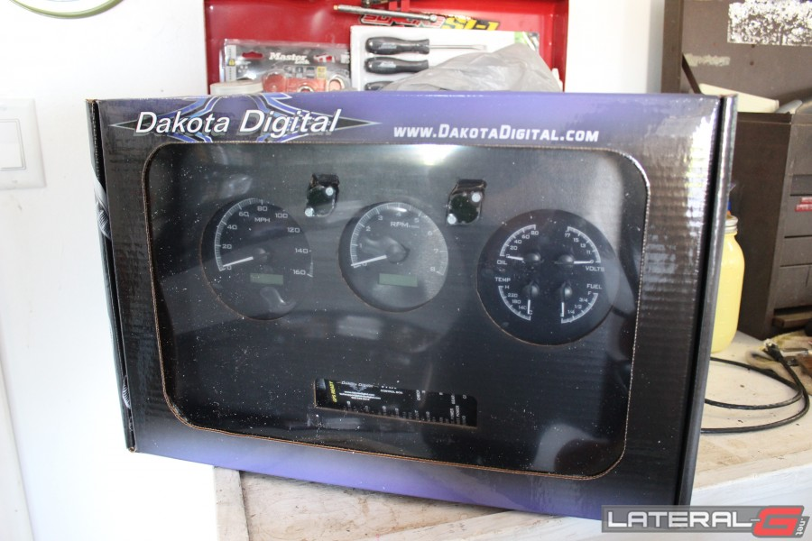 Dakota Digital VHX Gauge Install And Review Chevelle2