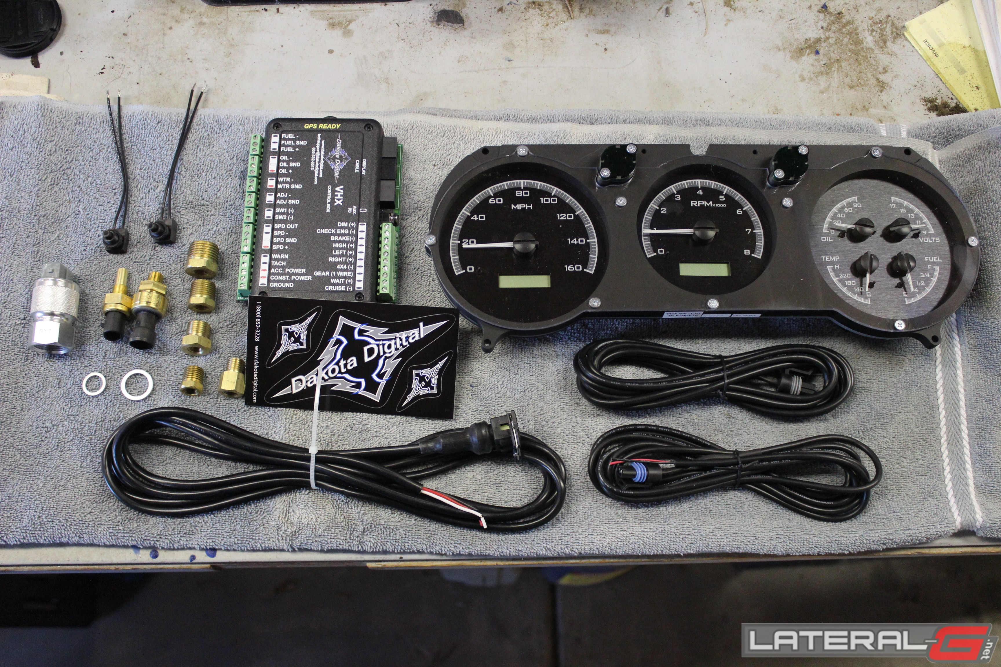 Dakota Digital Fuel Gauge Wiring Trusted Diagrams 1968 Camaro Diagram Vhx Install And Review Chevelle37 Air