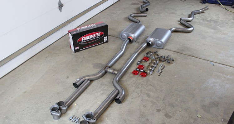 Going With The Flow: Installing Flowmaster Muffler's American Thunder Exhaust
