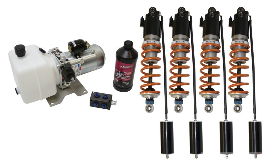 JRi Shocks Hydraulic Ride Height Pro Touring Lateral G 2