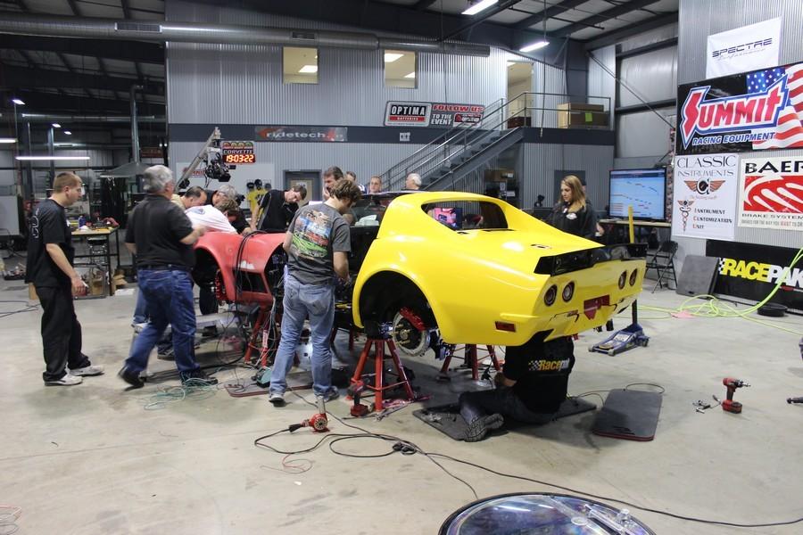 48-Hour Corvette RideTech Build 116