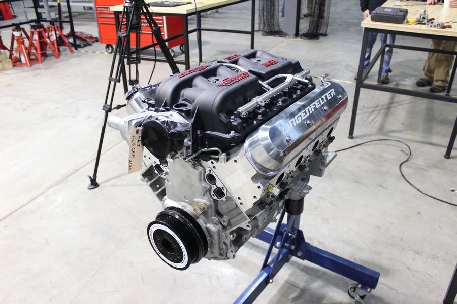 48 Hour Corvette RideTech Build 6