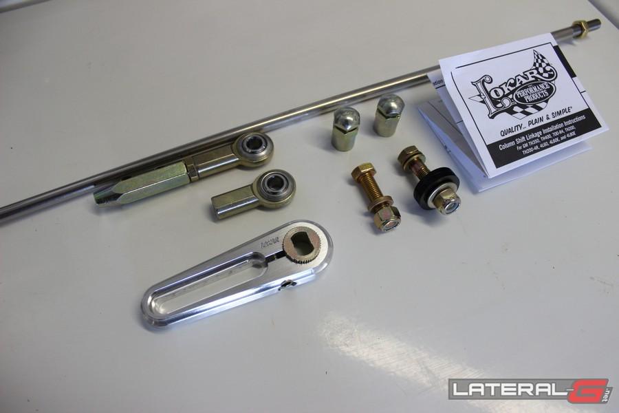 Lokar Column Shift Linkage ACA-1800 TH350 TH400 C4 C5 4L80E 4L60E 1
