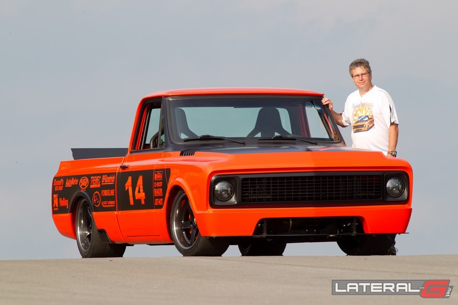 Orange Rush C10 Pro Touring Lateral G Bob Bertelson 12