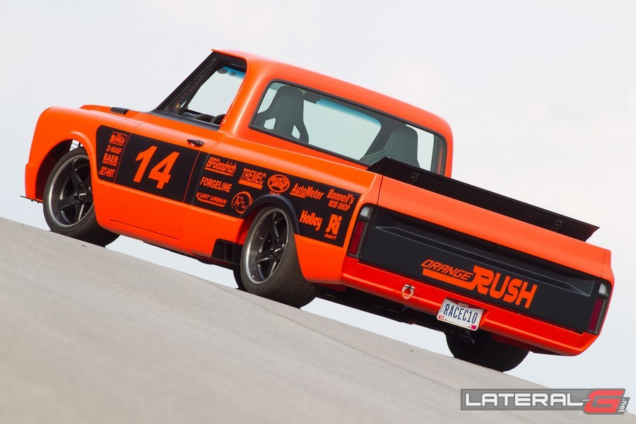 Orange Rush C10 Pro Touring Lateral G Bob Bertelson 13