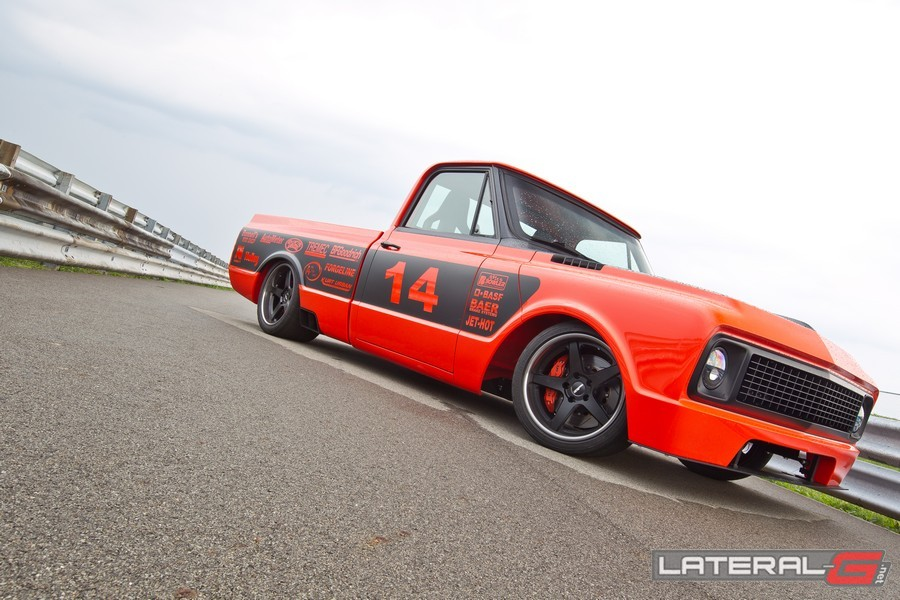 Orange Rush C10 Pro Touring Lateral G Bob Bertelson 21