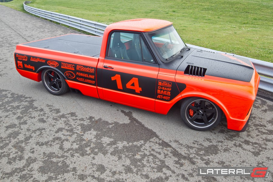 Orange Rush C10 Pro Touring Lateral G Bob Bertelson 23