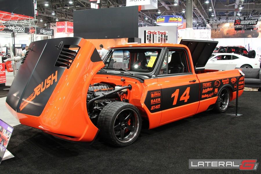 Orange Rush C10 Pro Touring Lateral G Bob Bertelson 34