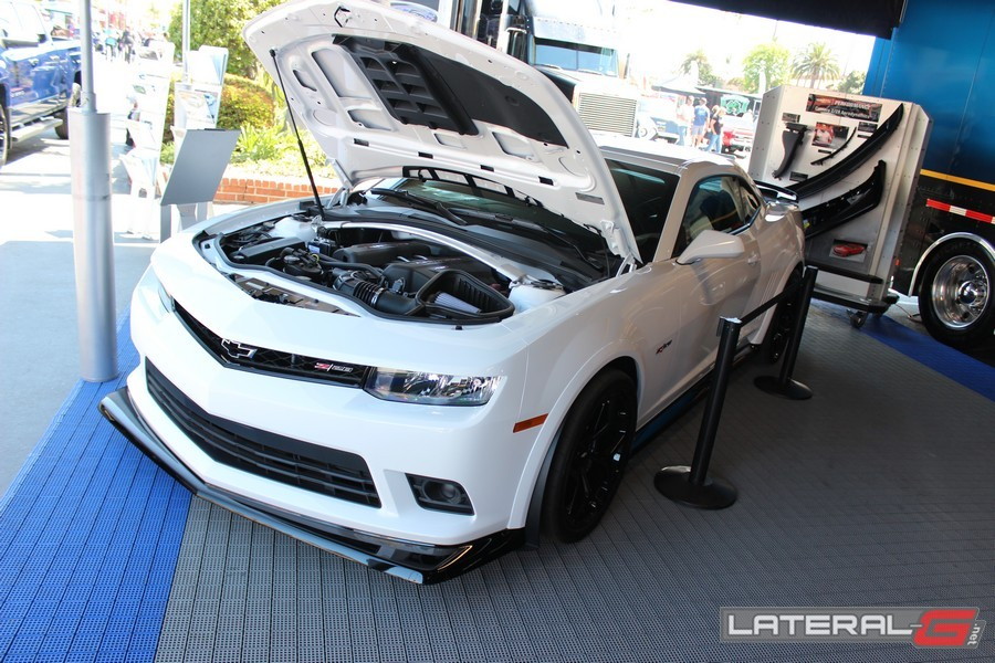 Chevrolet Performance was displaying a new Z/28!