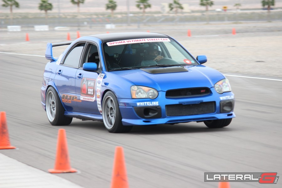 Optima Ultimate Street Car Challenge Las Vegas Lateral G Pro Touring 108