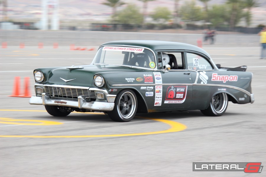 Optima Ultimate Street Car Challenge Las Vegas Lateral G Pro Touring 68