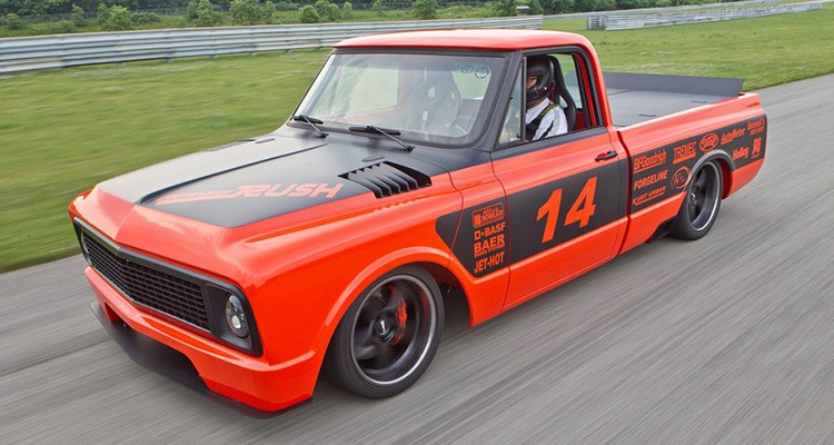 "April '15 Feature of the Month: Bob Bertelsen's 1969 Chevy C-10 ""Orange Rush"""