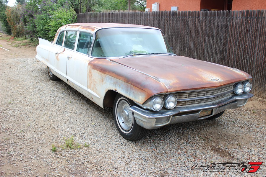 Our not-off-the-shelf LQ4 swapped '62 Cadillac Limo.