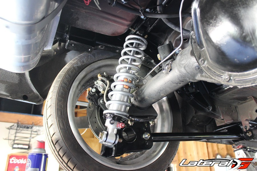 Converting From Two Leaf Springs To A Four Link Coil Over