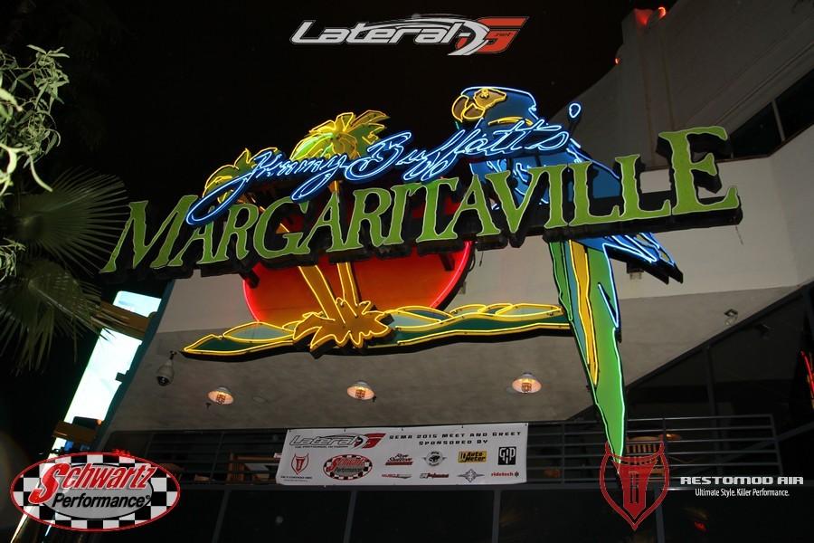 SEMA 2015 Lateral G Dinner Margaritaville Las Vegas 008