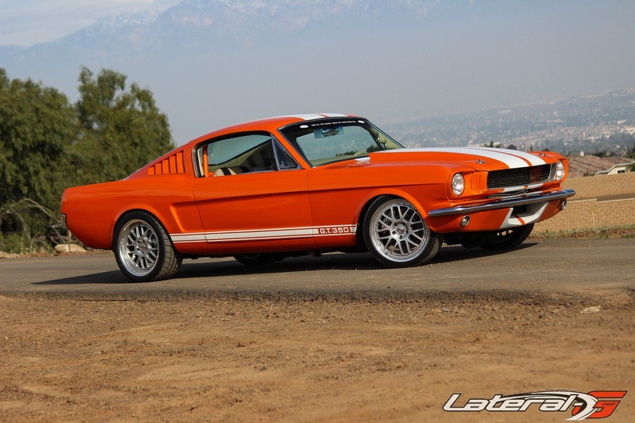 Mario De Leon Mustang TMI Products Lateral G Pro Touring 08