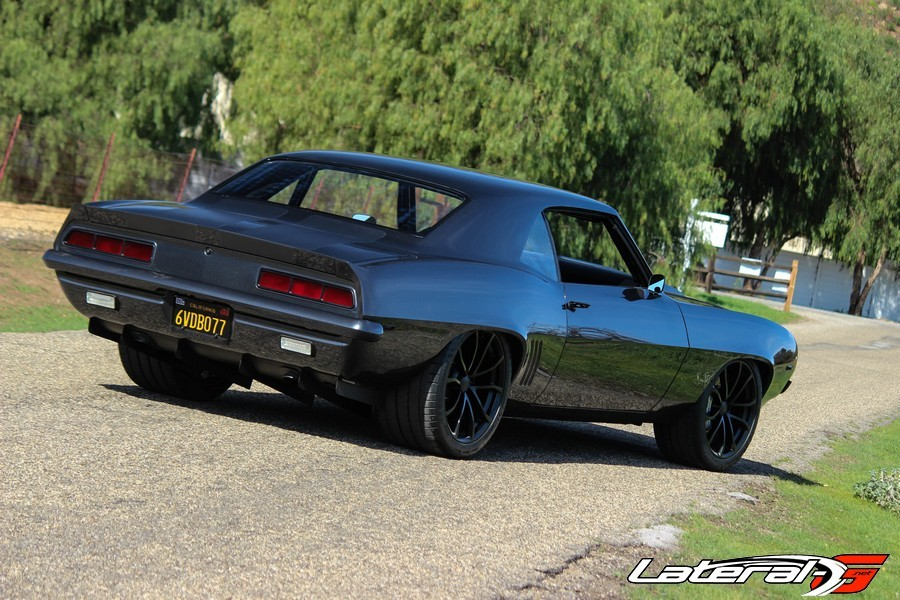 1969 Camaro Twin Turbo LS Mike Cavanah Lateral G Pro Touring 19