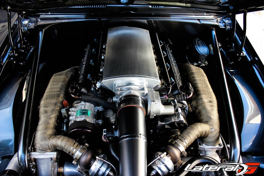 1969 Camaro Twin Turbo LS Mike Cavanah Lateral G Pro Touring 25