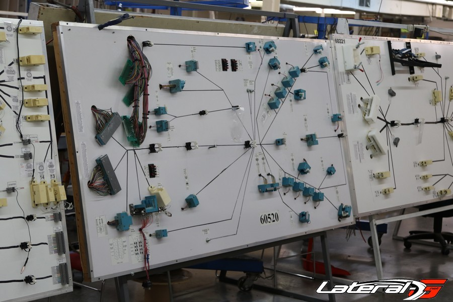 Boards where each circuit is laid by hand and fully tested.