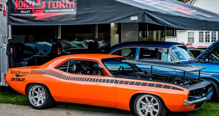 Car Feature: The TorqStorm Billet Superchargers' 1970 HEMI-Powered 'Cuda