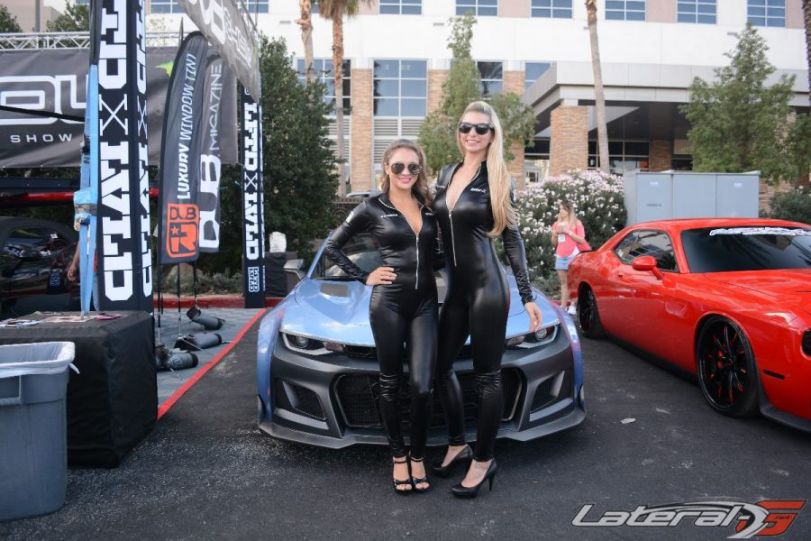 SEMA Show Day Three On The Packed Show Floor - Car show floor covering