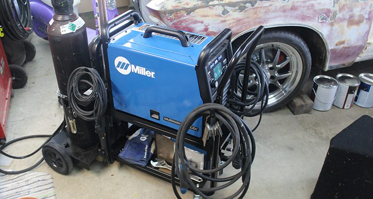 The Newest Miller Multimatic – The 220 AC/DC Welder!