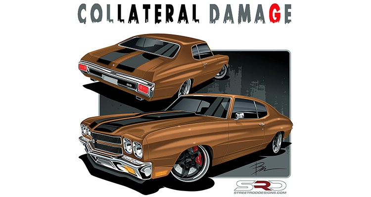 Project Collateral Damage: The Ultimate Touring '70 Chevelle