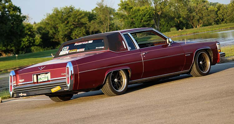 Project Chicken Coupe: LS Swapped 1983 Cadillac Coupe DeVille Hits Hot Rod Power Tour